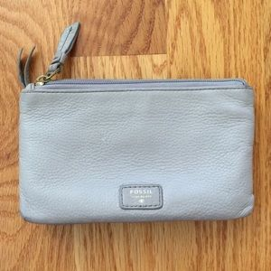 Authentic Leather Fossil Jean Wallet Clutch